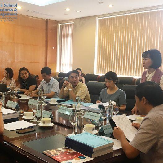 HSB bảo vệ thành công Chương trình đào tạo chất lượng cao Quản trị Marketing và truyền thông