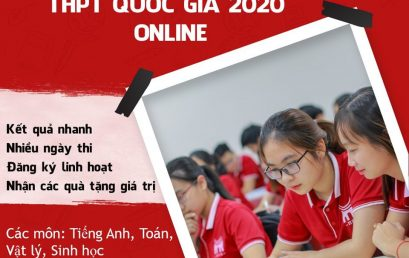 TỰ TIN THI THỬ THPT QUỐC GIA 2020 ONLINE MIỄN PHÍ