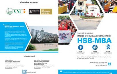 Thông báo tuyển sinh năm 2021 Chương trình Thạc sĩ Quản trị Kinh doanh (HSB-MBA) do ĐHQGHN cấp bằng