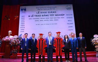 Khoa Quản trị và Kinh doanh (HSB) – ĐHQGHN tuyển dụng giảng viên năm 2021